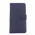 Samsung Galaxy Note 3 Blue Leather Case with Wallet