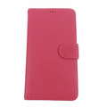 Samsung Galaxy Note 3 Pink Leather Case with Wallet
