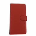 Samsung Galaxy Note 3 Red Leather Case with Wallet
