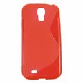Samsung Galaxy S4 Soft Protective Case - Red