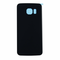 Samsung Galaxy S6 Edge Back Battery Cover Replacement - Black Sapphire