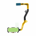 Samsung Galaxy S7 Edge Home Button Flex Cable Assembly with Touch ID - White
