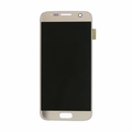 Samsung Galaxy S7 LCD & Touch Screen Digitizer Assembly - Gold (No Logo)