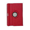 Samsung Galaxy Tab 2 10.1 Leather Standing Case - Red
