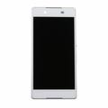 Sony Xperia Z3+ LCD & Touch Screen Assembly with Frame - White