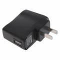 Wall Charger USB Adapter - Black
