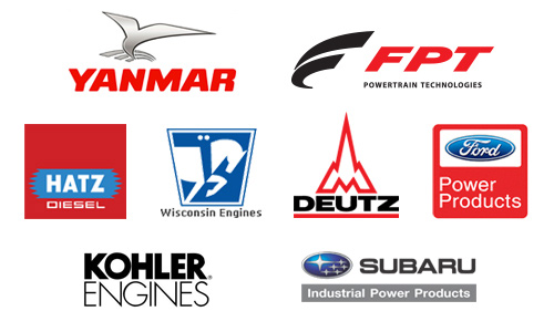 Industrial Engines Including Hatz, Yanmar, Wisconsin, Subaru, FPT and More