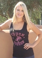 "*NEW* Ladies Black ""Tough Enough"" Tank"