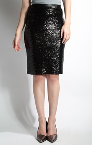 All That Jazz Modest Skirt in Black