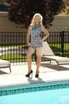 """Boyshort"" Modest Tankini Bottoms in Leopard Print *Final Sale*"