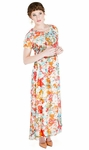 """""""Giselle"""" Modest Maxi Dress in Floral Print *RESTOCKED*"""