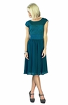"""Isabel"" Modest Dress in Deep Ocean Blue *BACK IN STOCK*"