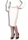 Ivy Belted Pencil Skirt in Cream (Available in Regular & Tall)