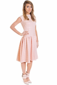 Kathryn Modest Dress in Pink