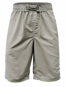 Men's Nylon Board Shorts in Khaki Stripe *Final Sale*
