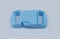 "3/8"" Plastic Side Release Buckle - Baby Blue"