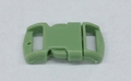 "3/8"" Plastic Side Release Buckle - Lime Green"