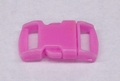 "3/8"" Plastic Side Release Buckle - Pink"