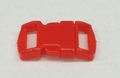 "3/8"" Plastic Side Release Buckle - Red"
