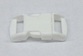 "3/8"" Plastic Side Release Buckle - White"