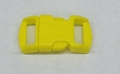 "3/8"" Plastic Side Release Buckle - Yellow"