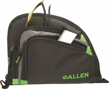 Allen Auto-Fit Compact Handgun Case - Green