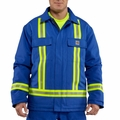 Carhartt Flame-Resistant Duck Traditional Coat With Reflective Striping