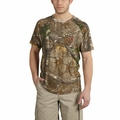 Carhartt Force Cotton Delmont Camo Short-Sleeve Tshirt