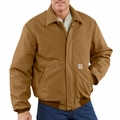 Carhartt FRJ195 Flame Resistant Duck Bomber Jacket - Quilt Lined