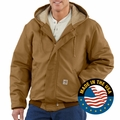 Carhartt FRJ237 Flame-Resistant Midweight Active Jacket - Quilt Lined