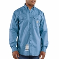 Carhartt FRS160 Flame-Resistant Twill Shirt With Flap Pockets