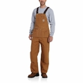 Carhartt R28 Duck Carpenter Bib Overalls
