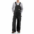 Carhartt R41 Quilt-Lined Zip-To-Thigh Bib Overall