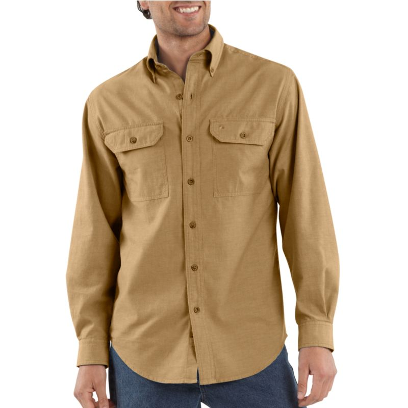 S202 Fort Solid Long-Sleeve Shirt