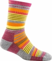 Darn Tough Women's Sierra Stripe Micro Crew - Light Cushion