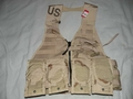 G.I. 3-Color Desert Camouflage Fighting Load Carrier w/ Ammo Pouches