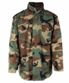 G.I. M-65 Woodland Camouflage Field Jacket (Used)