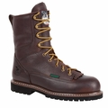 Georgia Steel Toe, Waterproof Low Heel Logger Work Boot