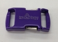 "Knottology Nito 1/2"" Metal Side Release Buckle - Purple"