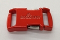 "Knottology Nito 1/2"" Metal Side Release Buckle - Red"