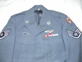 Korean War U.S. Air Force Dress Blue Uniform