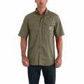 "<font color=""ff0000"">*New</font> Carhartt 102417 Force Ridgefield Solid Short Sleeve Shirt"