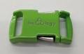 "Knottology Nito 1/2"" Metal Side Release Buckle - Green"