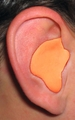 Radians Custom Moldable Ear Plugs - Orange