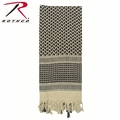 Rothco Shemagh Desert Tactical Scarf - Tan