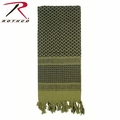 Rothco Shemagh Desert Tactical Scarf - OD Green