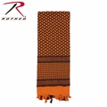 Rothco Shemagh Desert Tactical Scarf - Orange