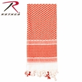 Rothco Shemagh Desert Tactical Scarf - Red/White