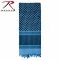 Rothco Shemagh Tactical Desert Scarf - Blue/Black