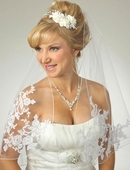Angel Cut Lace Veil